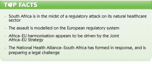 Update on the assault on South African natural healthcare