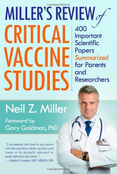 Miller's Review of Critical Vaccine Studies - Front Cover