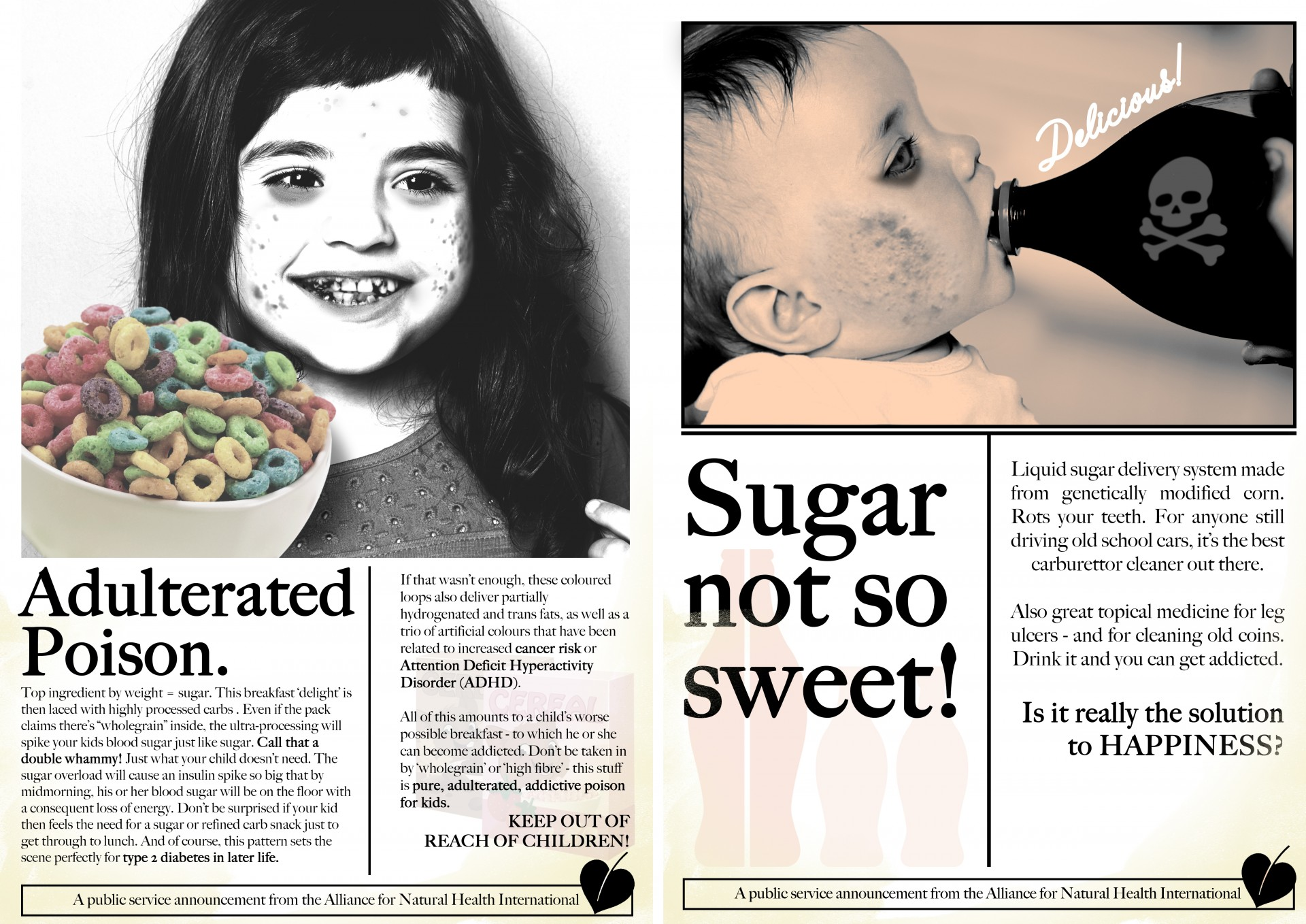 big food is a bigger problem than sugar for kids alliance for advertisements should look like we ll be pushing these out via social media and we re looking for your help in getting these to a much wider public