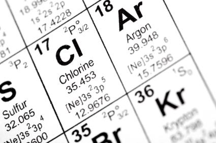 water, fluoride, chlorine